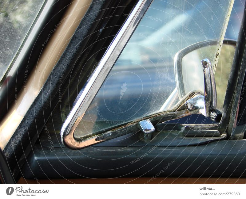 Old Style Car Car Window - a Royalty Free Stock Photo from Photocase