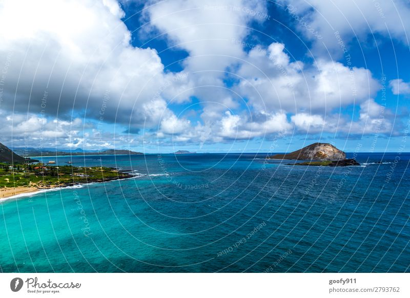 Sky Vacation & Travel Nature Summer Water Landscape Ocean Clouds Far-off places Beach Coast Tourism Freedom Trip Waves Island