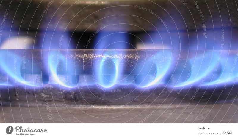 Blue Blaze Cooking & Baking Hot Gas Photographic technology