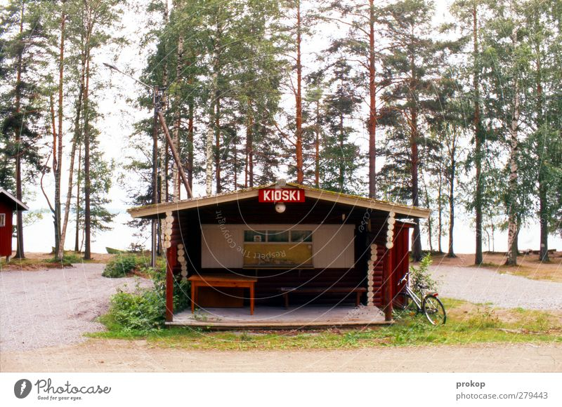 Nordic lateti Nature Landscape Tree Forest Coast Lakeside Hut Facade Natural Business Shopping Crisis Vacation & Travel Tourism Change Advertising Kiosk Bicycle