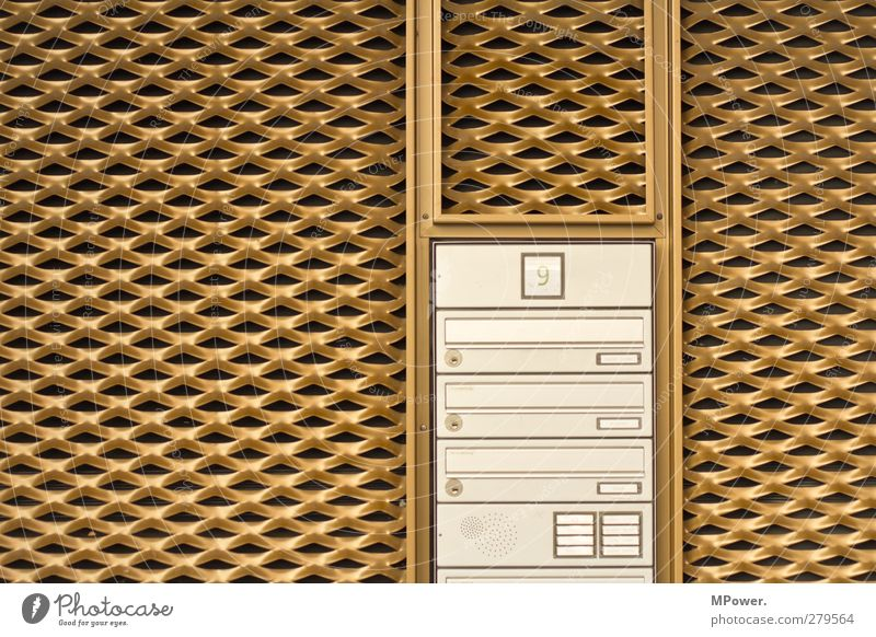 living in a golden cage House (Residential Structure) Building Architecture Wall (barrier) Wall (building) Facade Living or residing Gold Lack of inhibition