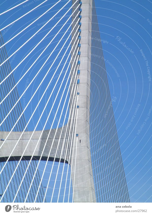 Lisbon bridge 3 Really Architecture Bridge Modern Sky