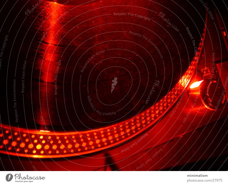 Red Technology Club Radio (broadcasting) Foyer Record player