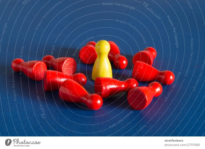 Blue Red Wood Yellow To talk Group Lie Power Stand Success Might To fall Anger Toys Argument Economy