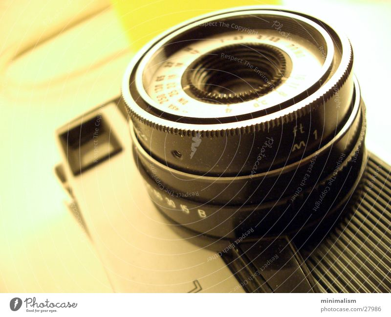 Camera Entertainment Viewfinder Objective