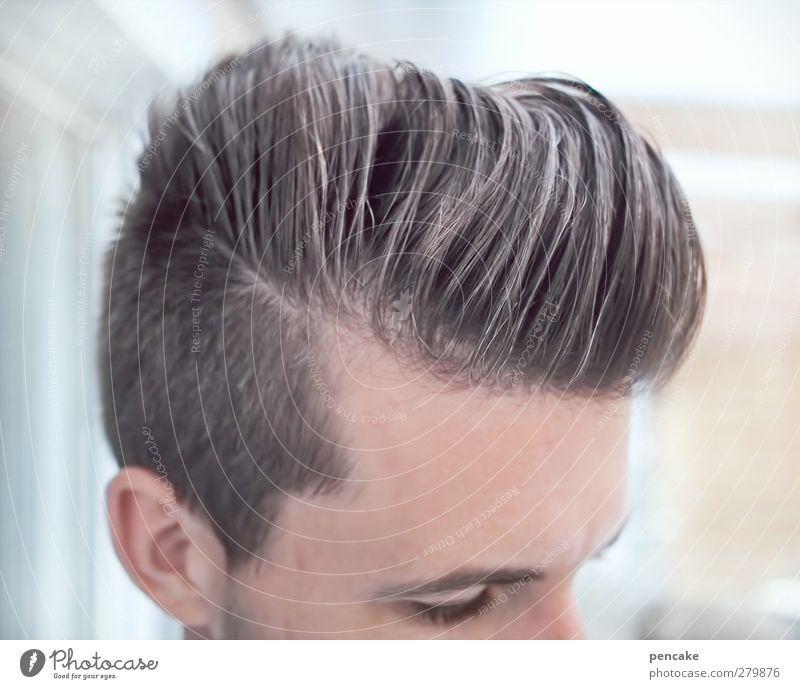male | Wellness Style Beautiful Personal hygiene Hair and hairstyles Life Harmonious Masculine Man Adults 1 Human being 18 - 30 years Youth (Young adults)