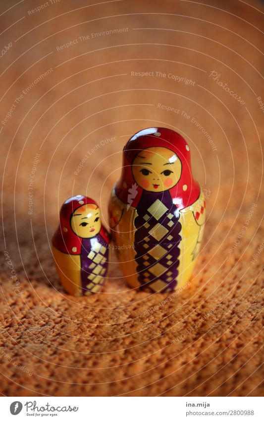 matryoshka Parenting Human being Child Toddler Girl Mother Adults Family & Relations Infancy Life 2 Toys Doll Decoration Souvenir Collection Collector's item