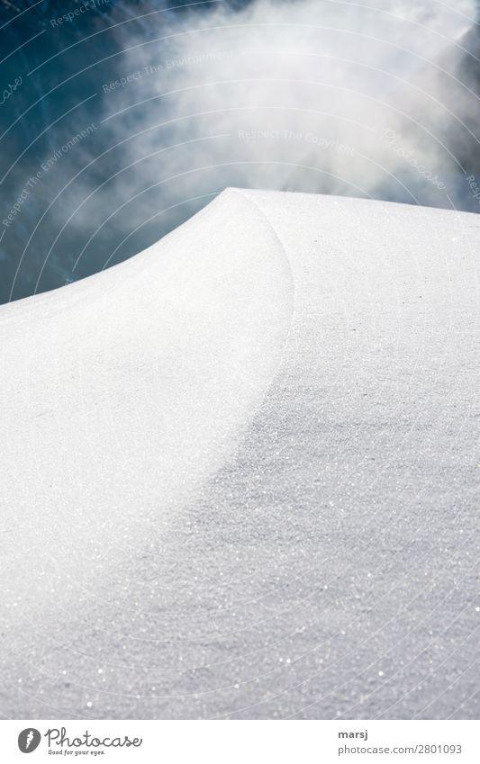 Nature White Calm Winter Cold Natural Sadness Snow Exceptional Line Ice Dream Fog Elegant Esthetic Corner