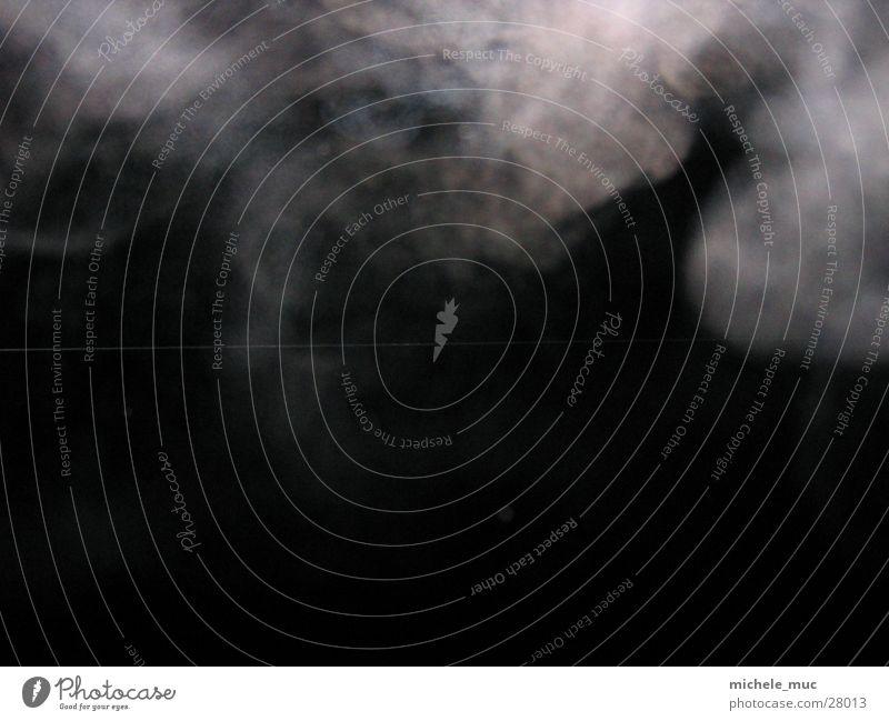 White Black Dark Smoke Photographic technology