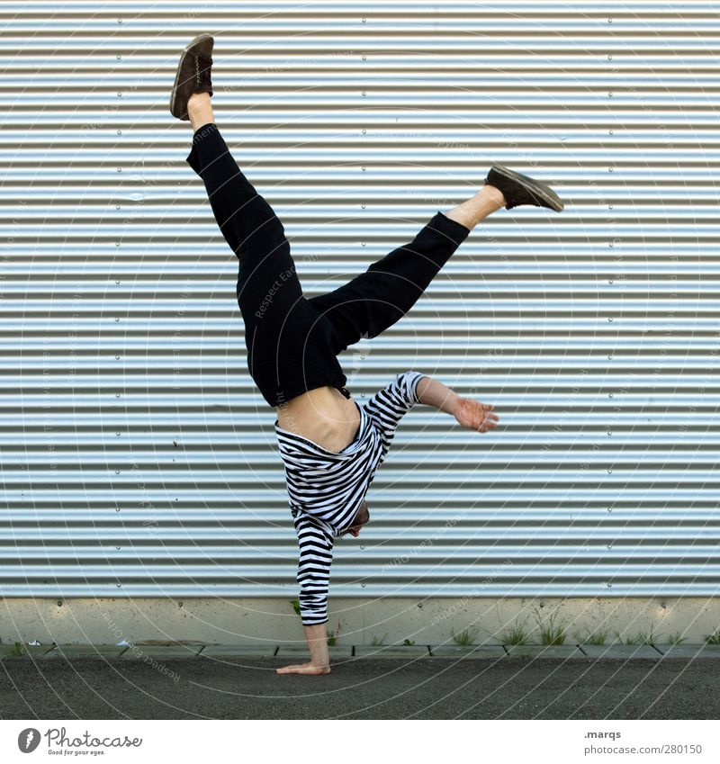 acro Lifestyle Style Sports Fitness Sports Training Sportsperson Success Handstand Acrobatics Yoga Gymnastics Human being Masculine 1 30 - 45 years Adults