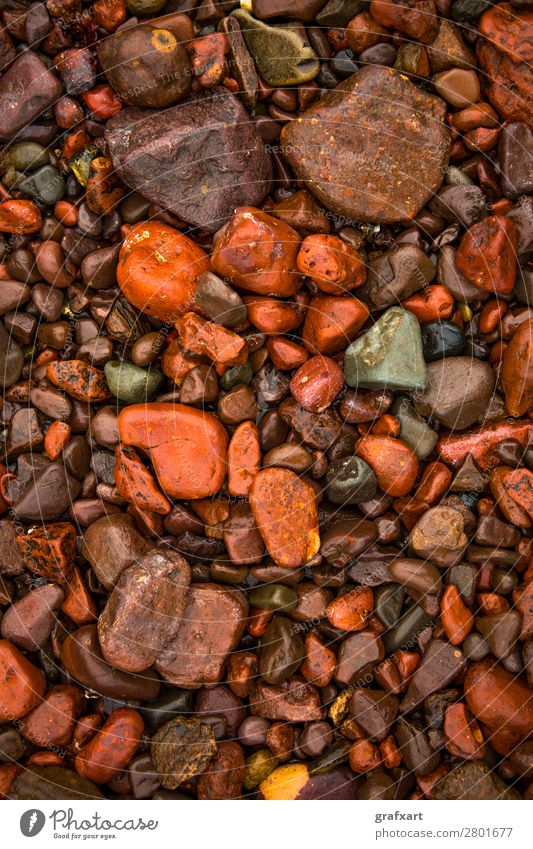 Nature Colour Water Red Beach Background picture Environment Coast Stone Orange Brown Rock Design Decoration Wet Round