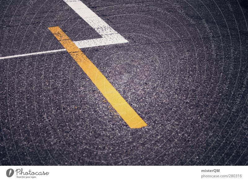 Launch grid. Art Esthetic Asphalt Traffic infrastructure Street Traffic lane Lane markings Yellow Competition Racing sports Motorsports Racecourse Beginning