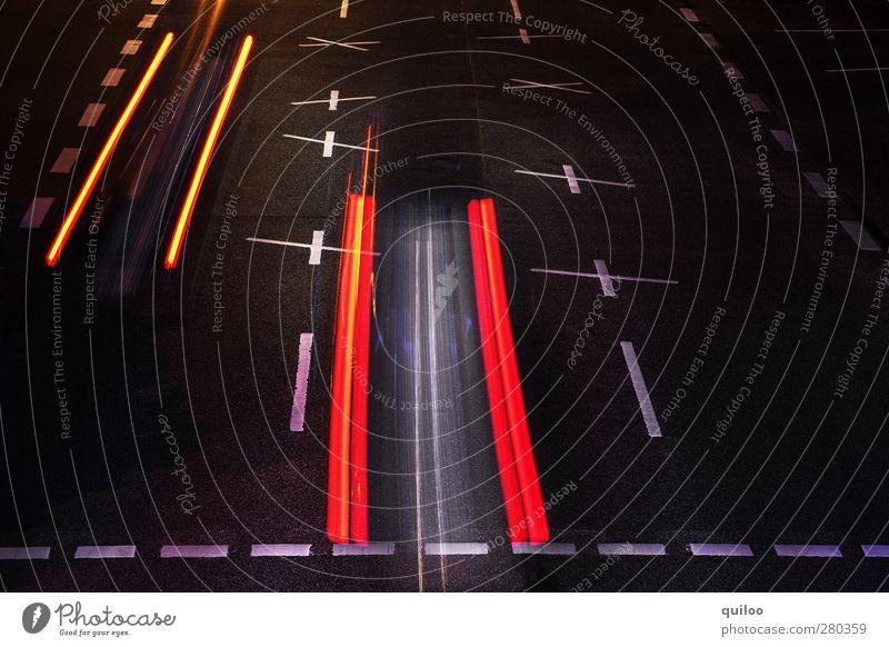 White Red Black Street Orange Power Transport Modern Speed Dangerous Illuminate Stripe Threat Driving Logistics Asphalt
