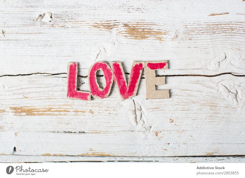 Love symbols hand painted in watercolor Puppy love Image artistic Background picture Brush Canvas Cardboard Feasts & Celebrations Conceptual design Creativity