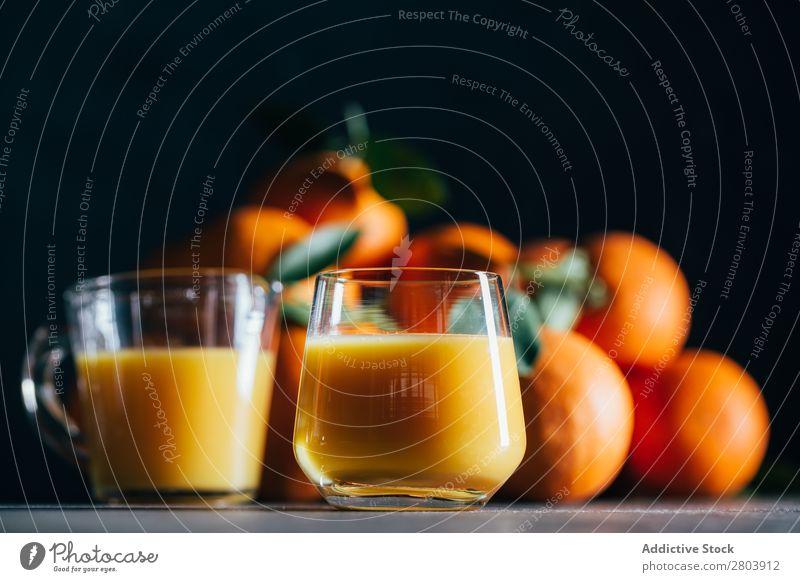 Orange juice on table Organic Juice Tasty Vitamin Delicious Drinking Fresh