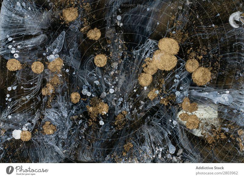 Abstract flow of liquid paints in mix Flow Painting (action, artwork) Liquid Mix Background picture Movement Surface slow Watercolor Fluid Transparent Art
