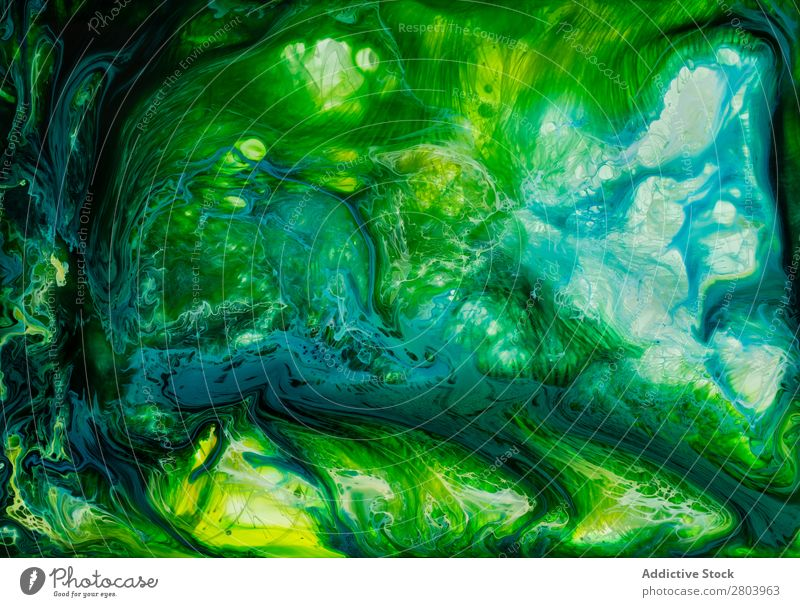 Abstract flow of liquid paints in mix Flow Painting (action, artwork) Liquid Mix Background picture Movement Surface slow Watercolor Fluid Transparent Art