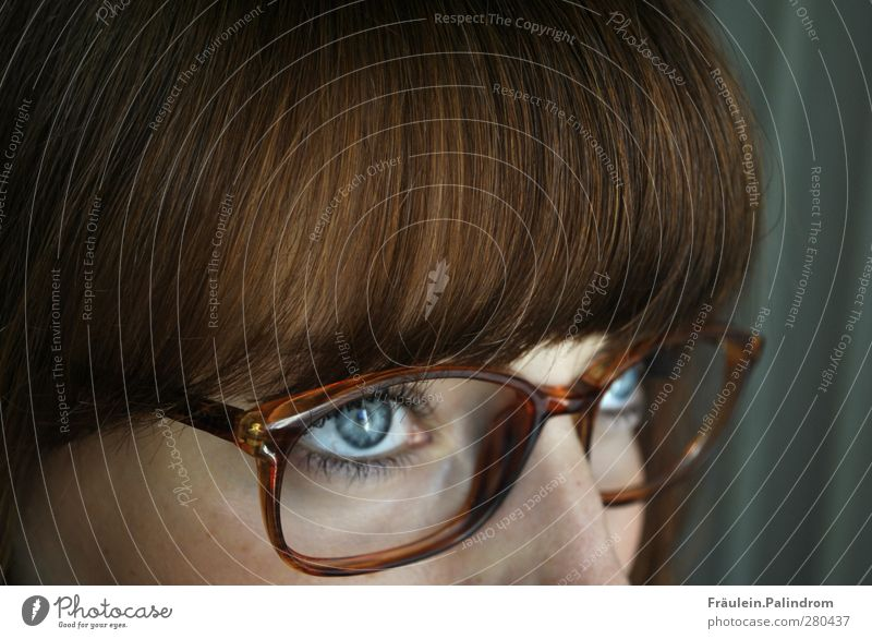 Perspective¹ Feminine Young woman Youth (Young adults) Woman Adults Hair and hairstyles Eyes 1 Human being 18 - 30 years Eyeglasses Brunette Red-haired Bangs