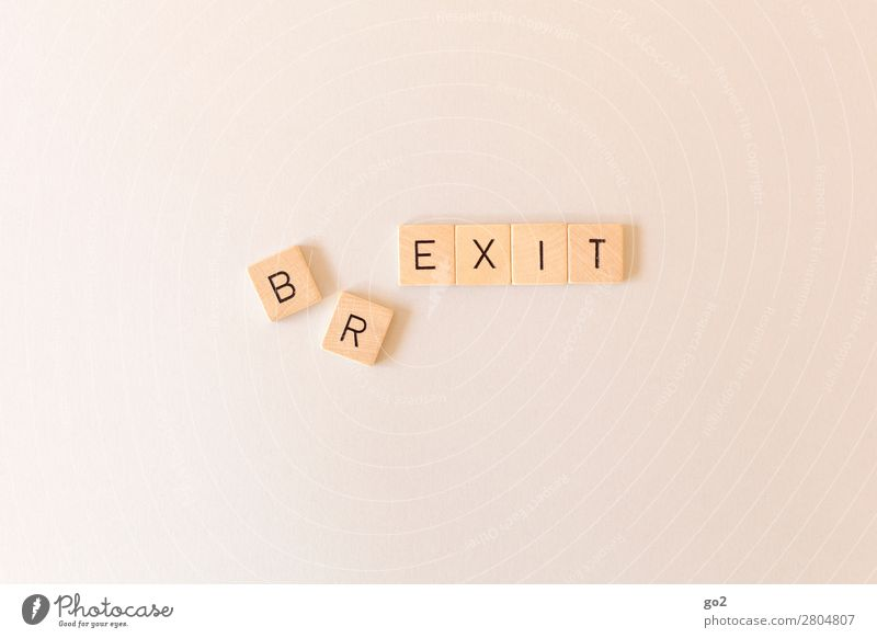 BR/EXIT Playing Great Britain England Europe Wood Characters Fear of the future Chaos Disaster End Society Crisis Might Fiasco Politics and state Argument Date