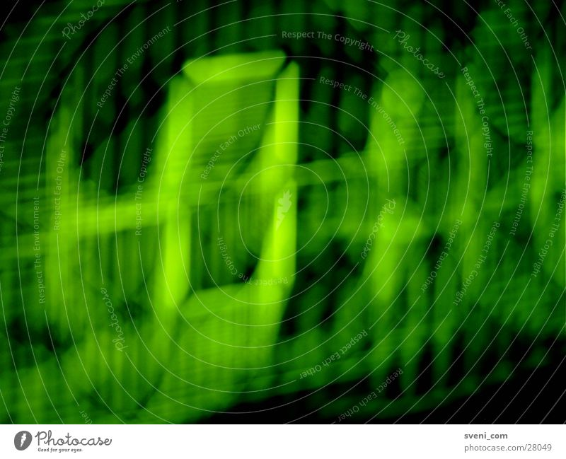MATRIX - 2 Green Matrix Long exposure Digital photography digital readout 0:10