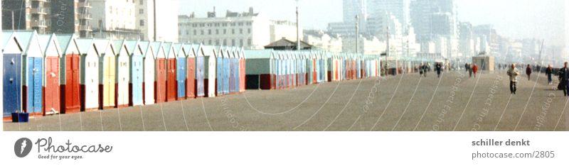 Brighton England Coast Ocean Human being street