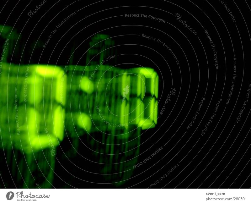 Green Digital photography Matrix