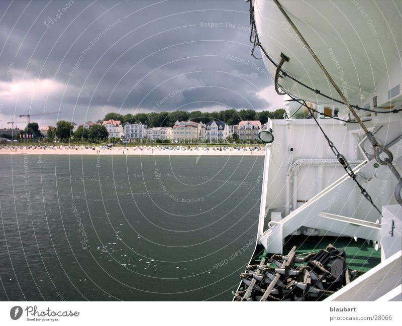 Water Cold Gray Lake Rain Watercraft Wind Weather Europe Baltic Sea Ocean