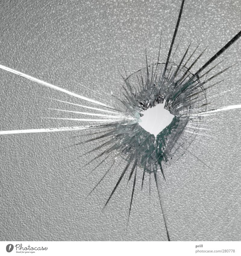 shot Glass Jump Idea Arrangement Destruction bullet hole Broken semitransparent see through something Background picture Concentric forensics Frosted glass