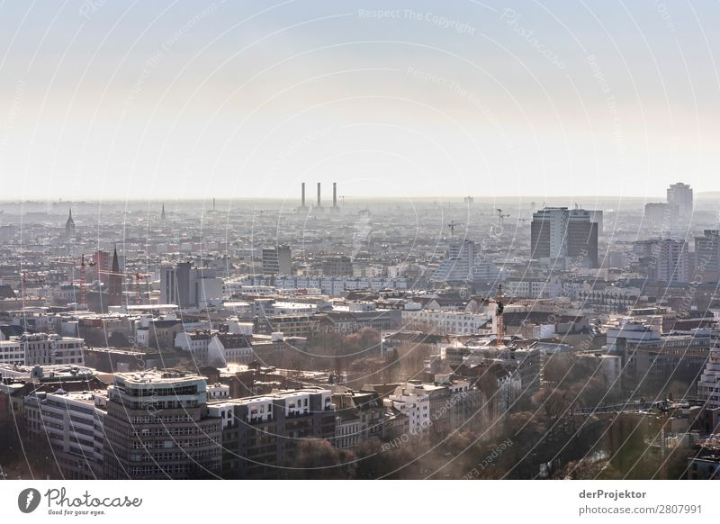 Berlin Panorama with view to the West II City trip Freedom Sightseeing Landscape Adventure Autumn Capital city Manmade structures Architecture