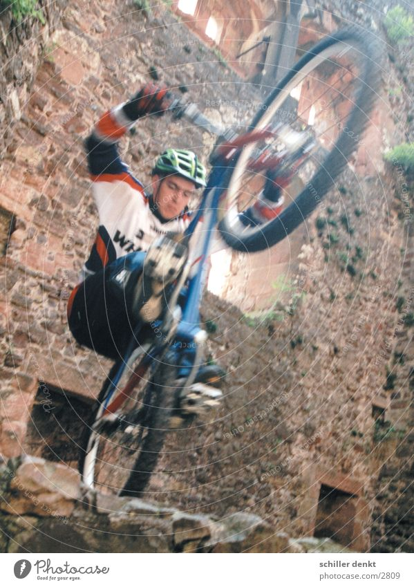 Flying Bike Boys Action Mountain bike Photographic technology biking Bicycle Thrill