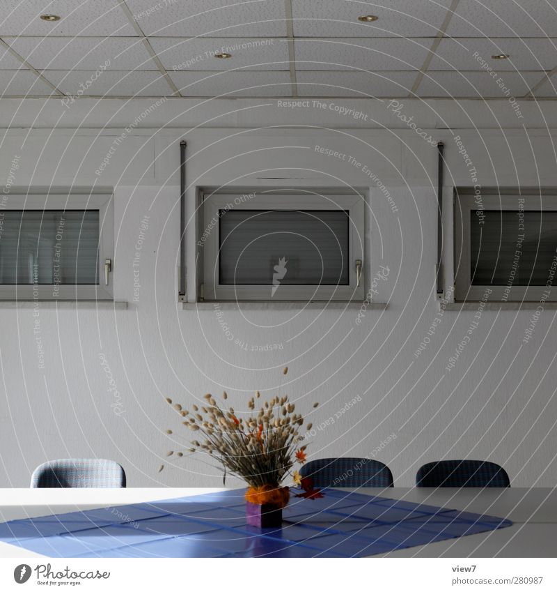 Old White Window Wall (building) Architecture Wall (barrier) Building Interior design Time Room Authentic Fresh Modern Living or residing Table Decoration