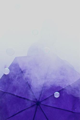 Purple mood Party Event Feasts & Celebrations Human being Masculine Man Adults Head 1 18 - 30 years Youth (Young adults) Umbrella Violet Soap bubble Fog
