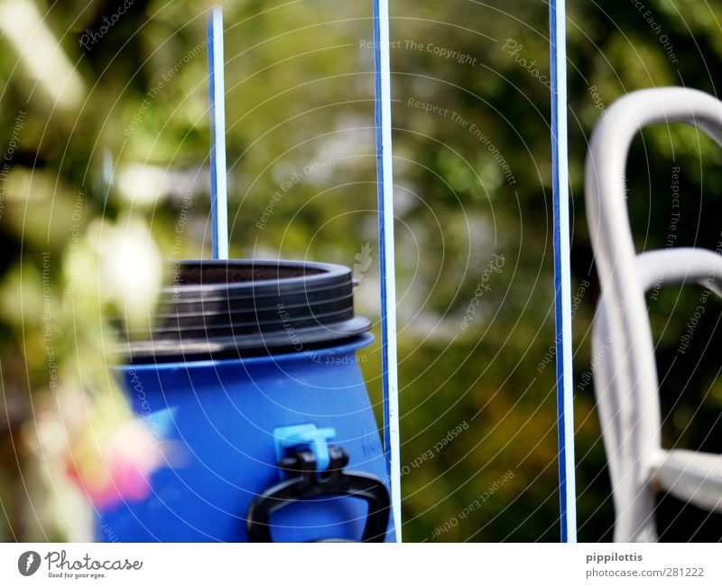 Blue Water Green Summer Garden Design Observe Balcony Fishing (Angle) Hydroelectric  power plant