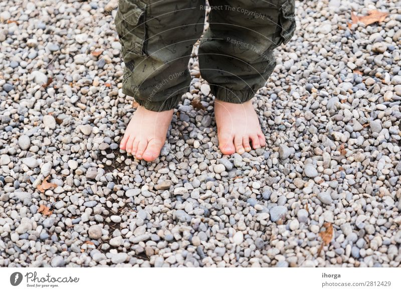 baby walking barefoot on stones Lifestyle Leisure and hobbies Playing Vacation & Travel Trip Adventure Human being Baby Fingers Feet 1 1 - 3 years Toddler