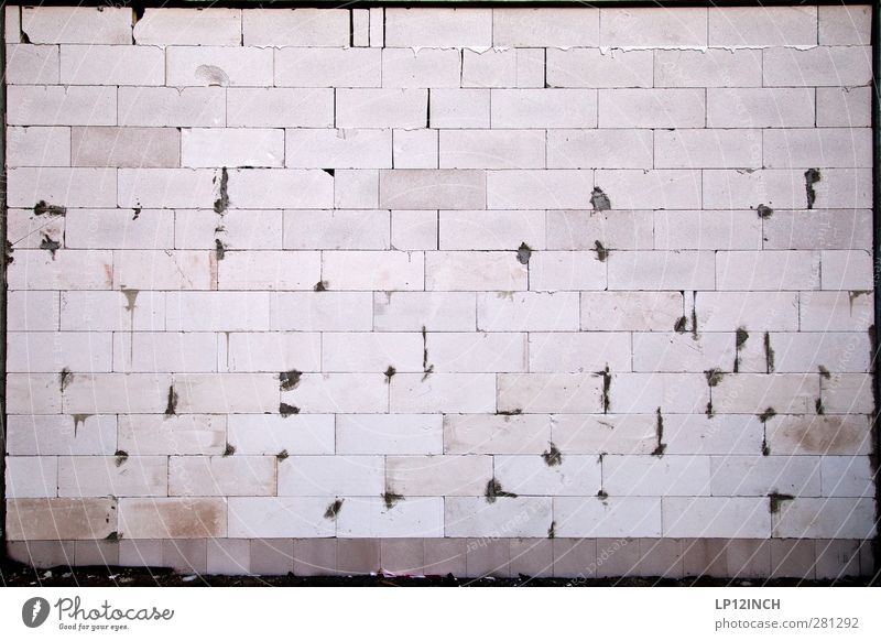 Maurer´s DELIGHT Wall (barrier) Wall (building) Facade Stone Work and employment Build Living or residing Sharp-edged Planning Line Offset Building Colour photo
