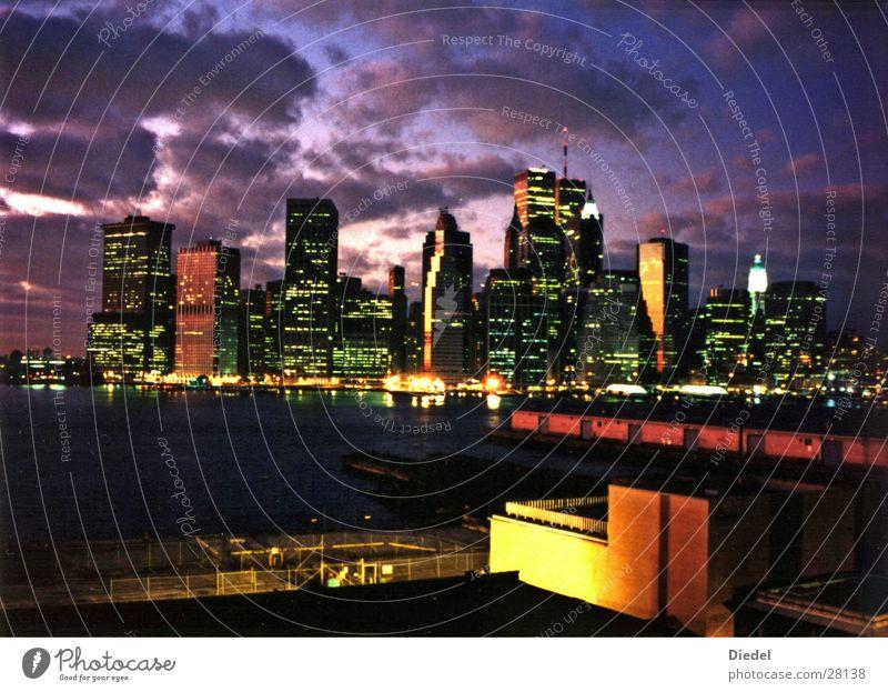 Clouds New York City Manhattan North America World Trade Center