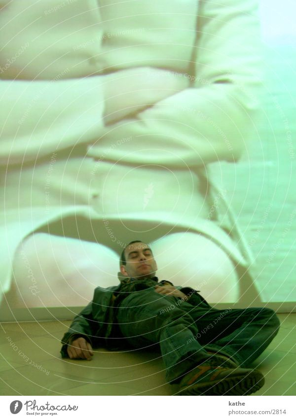 christophe dreams... French Man Sleep Dream Woman Beige shot Carnival costume