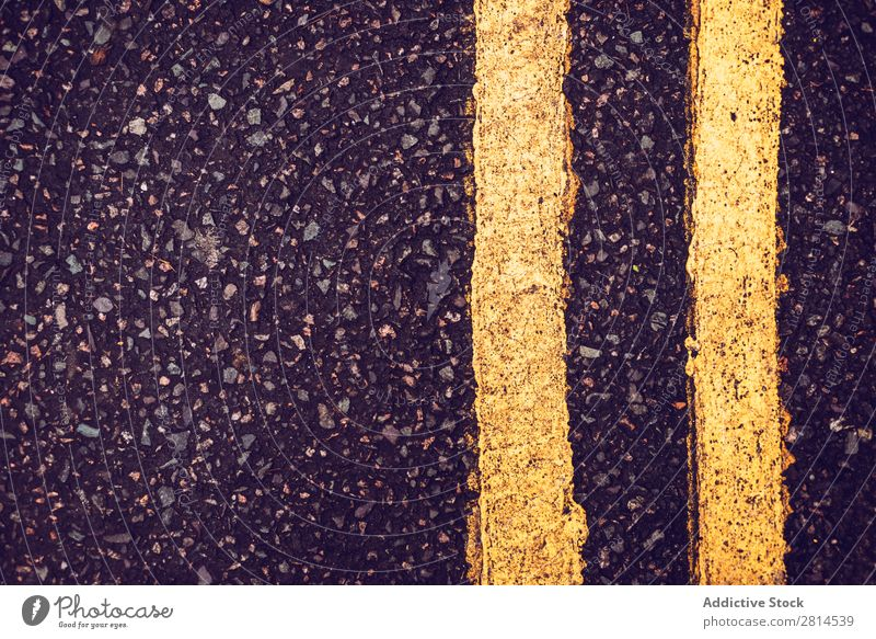 Close up road flagging Street Background picture marking Asphalt Wrinkle Transport Vacation & Travel Speed Highway Direction Yellow Trip Racing sports Deserted