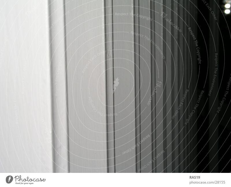 White Black Gray Architecture Handrail Column Grid
