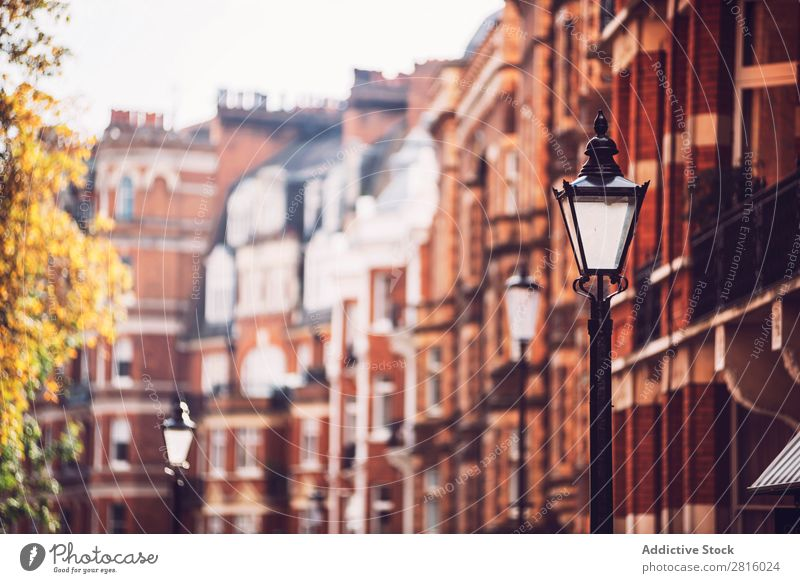 Brick flat boxes in London. Horizontal outdoors shot House (Residential Structure) Window Architecture front Building Red Flat Wall (building) City Town