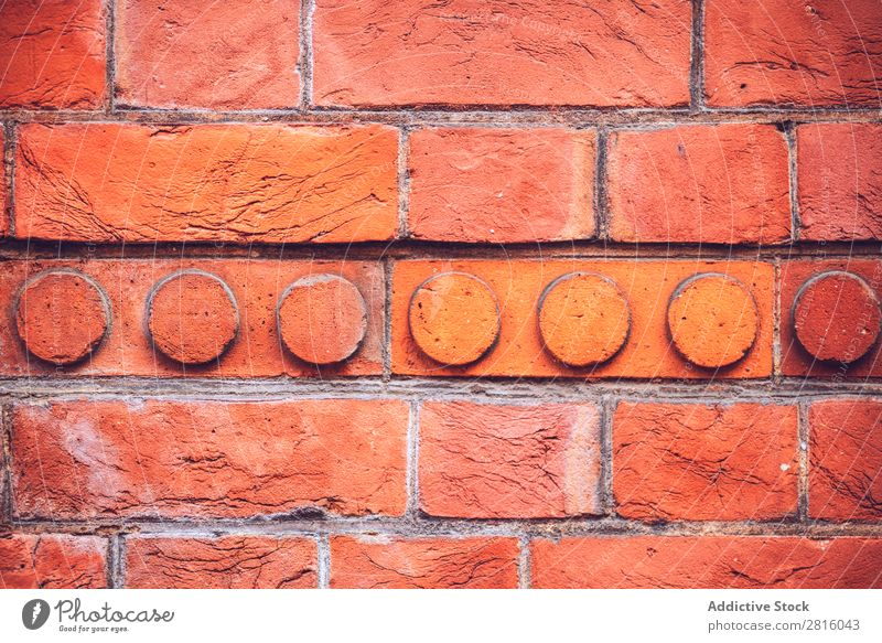 Textured background of bright brick wall Consistency Background picture Brick wall Wall (building) Old Block Surface Architecture Material Structures and shapes