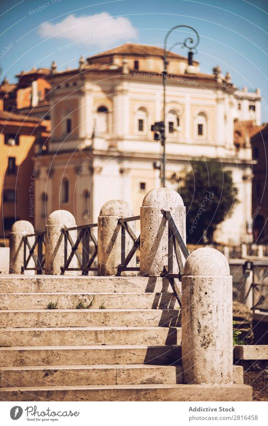 Close-up detail of Rome city, Italy Street Old Vintage Detail European Exterior shot Ancient Italian Destination Vacation & Travel Vantage point Town Landmark