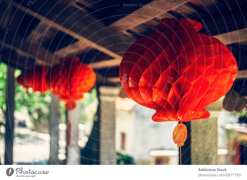 Lanterns in the ancient town of Hoi An, Vietnam Art Asia asian Ball Beauty Photography Bright Bulb Cable Ceiling Feasts & Celebrations Colour Multicoloured