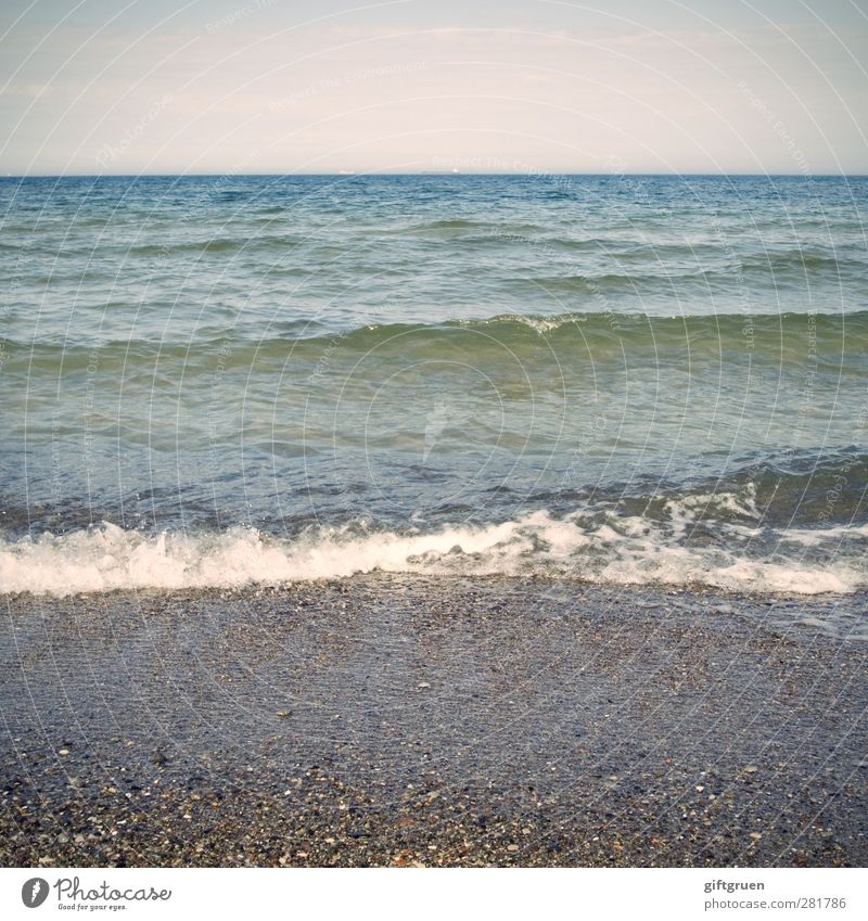 the course of events Environment Nature Landscape Elements Water Sky Horizon Summer Weather Beautiful weather Waves Coast Beach Ocean Screenshot Swell