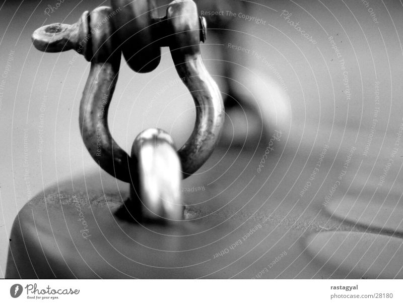 swing Swing Playground Eyelet Hover Grief Past Leisure and hobbies Macro (Extreme close-up) Black & white photo Metal segregating Sadness