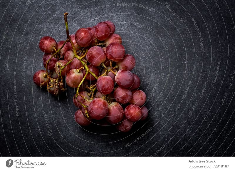 Grapes bunch Bunch of grapes Mature Fruit Fresh Healthy Food Sweet Berries Nature Dessert Nutrition Branch Juicy Purple Harvest Red Natural Delicious Plant
