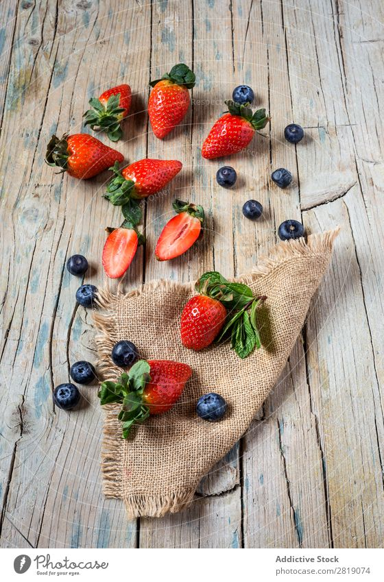 Mix of strawberries and blueberries Strawberry Fruit Background picture Blackberry Healthy Food Breakfast Dinner Blueberry Multicoloured Delicious Dessert Fresh