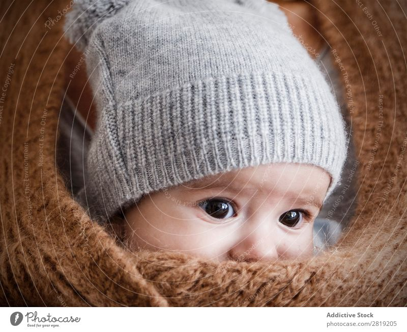 into the jacket Baby Child Boy (child) mum Mother Jacket Grandmother Nice Cool (slang) Cute pretty Beauty Photography Small Eyes Smiling Human being Hand Ring