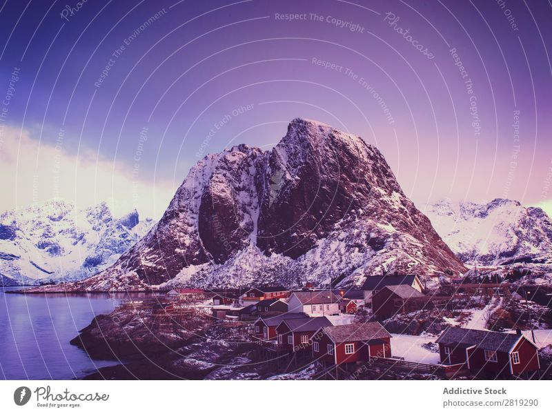 Eva Ozkoidi_Awesome Hamnoy at dawn Fjord Lake Ice Norway Street Coast Rock Ocean