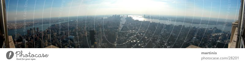 City Large High-rise New York City Panorama (Format) North America Empire State building